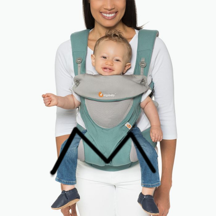 omni 360 cool air menthe ergobaby position physiologique