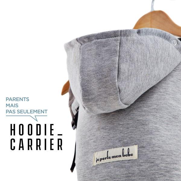 hoodiecarrier Je porte mon bébé