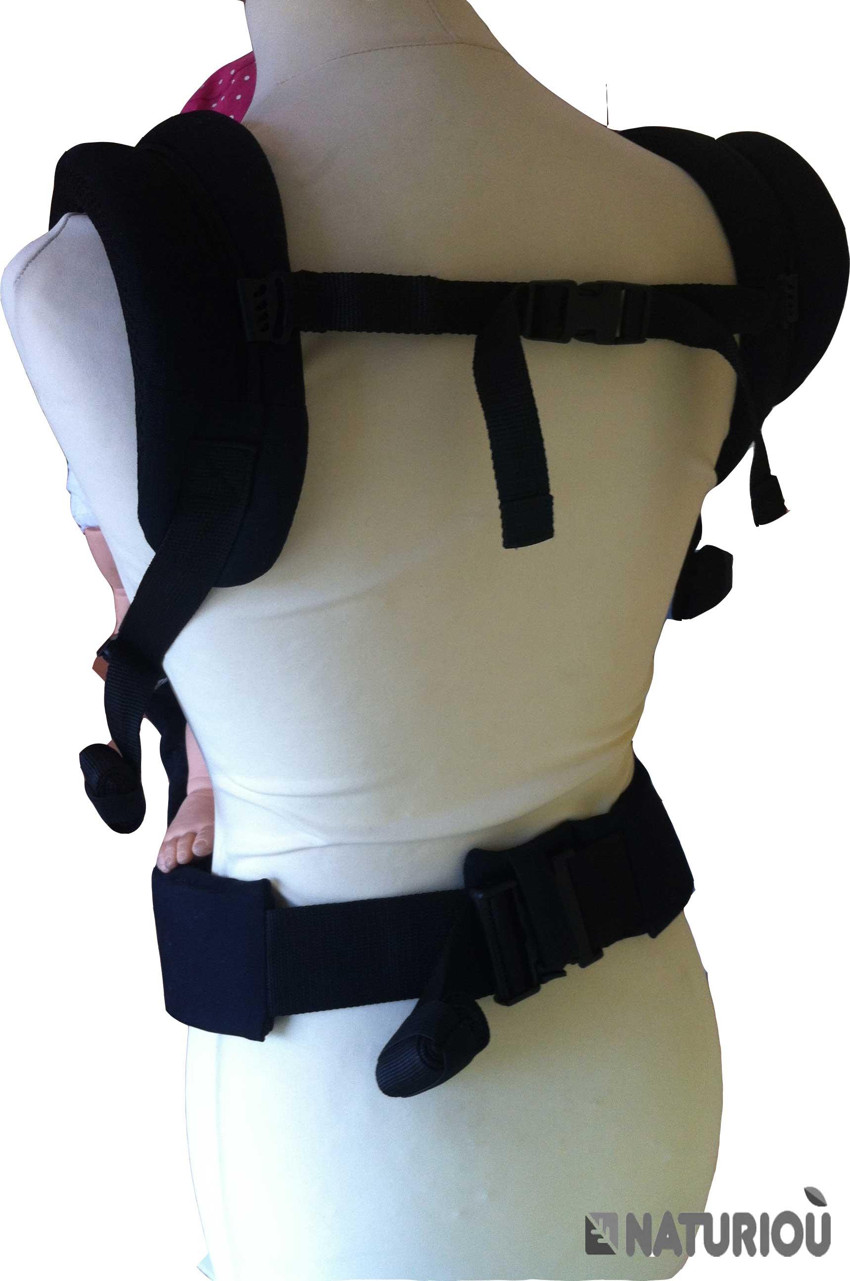 Portage sur dos et ventre PhysioCarrier