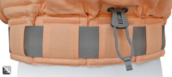 La ceinture à soufflets P4 Preschool Abricot