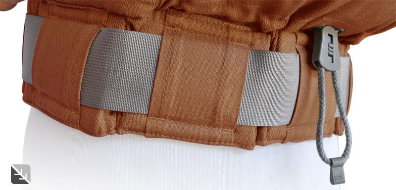 La ceinture à souflets du Preschool chocolate