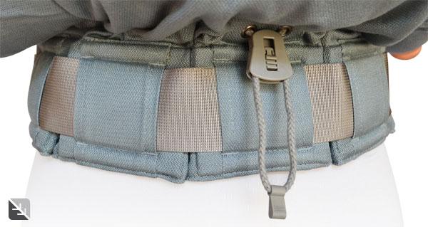 La ceinture réglable du P4 Preschool Eucalyptus