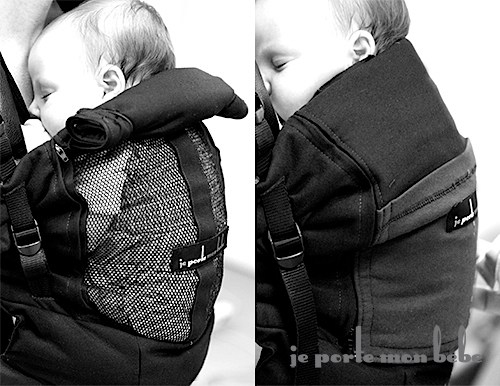 Physiocarrier Black Pocket Black Black Jpmbb At The Best Price - Porte bebe physiocarrier