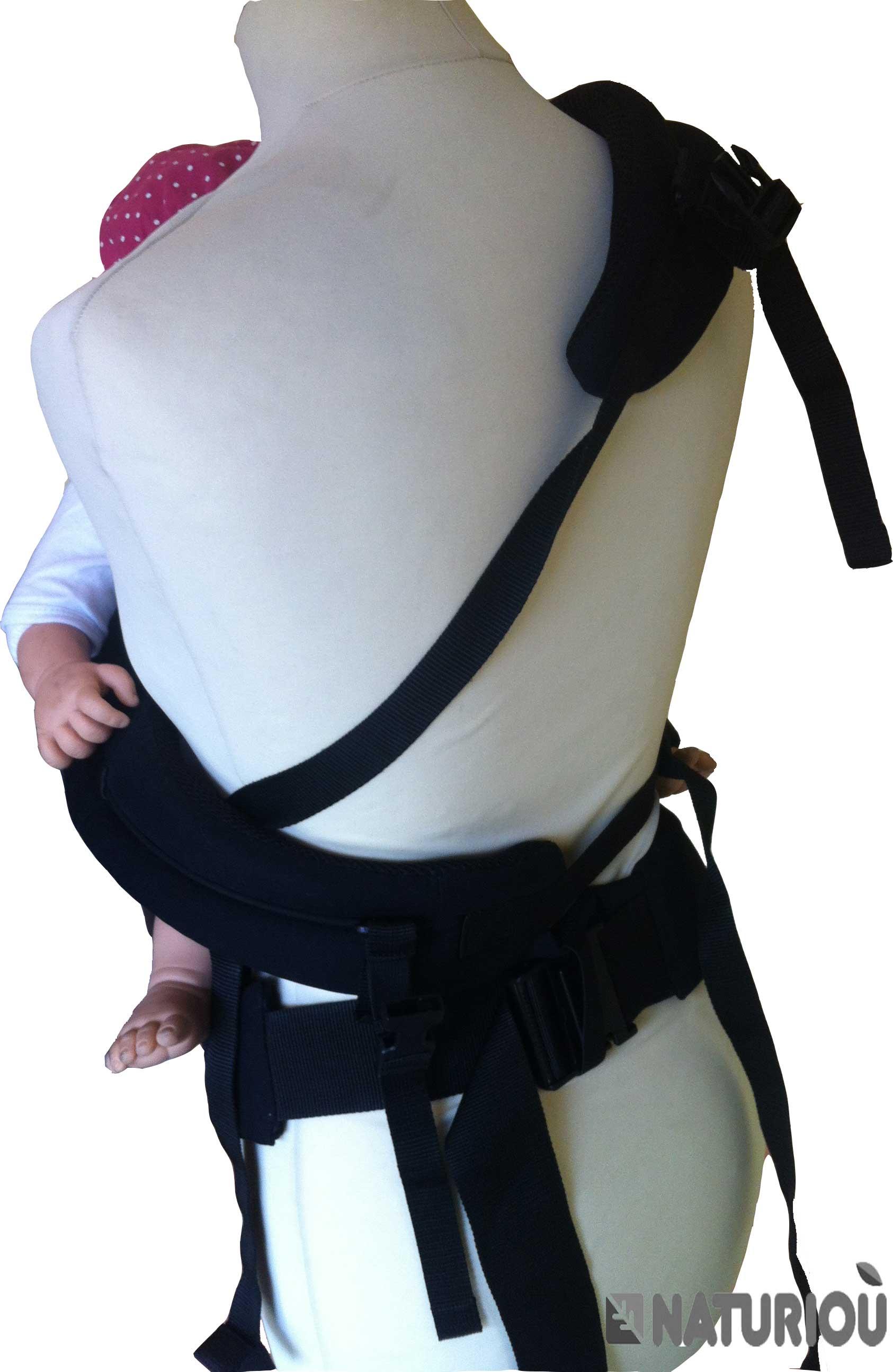 porter sur les hanches votre enfants avec le PhysioCarrier de JPMBB