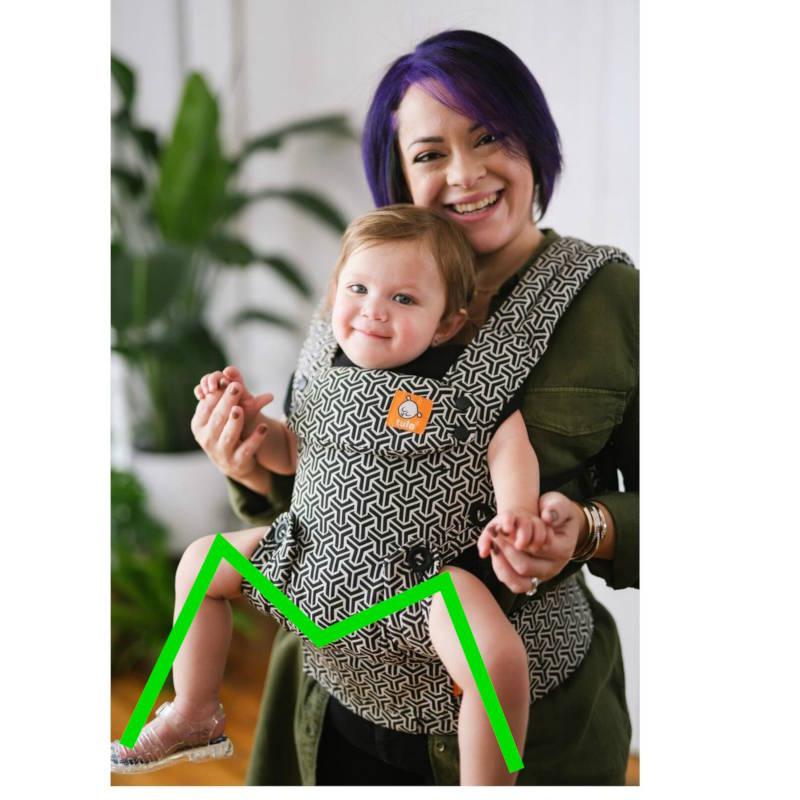 Tula Explore Forever porte-bébé physiologique