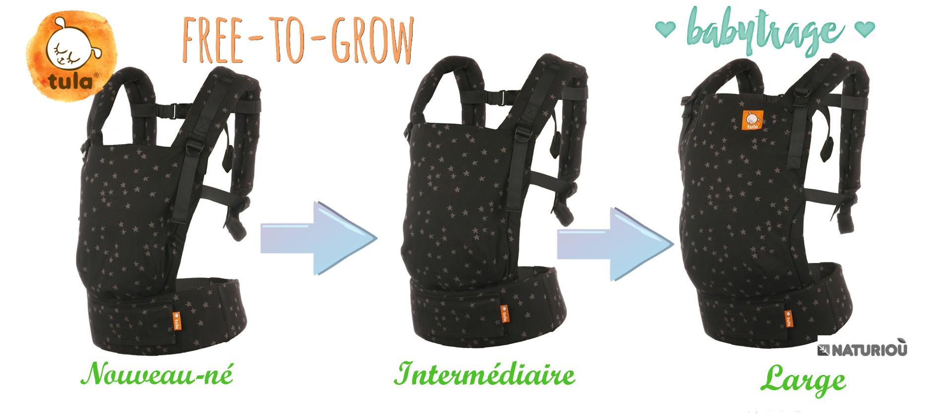 Porte-bébé Tula Free-to-grow discover