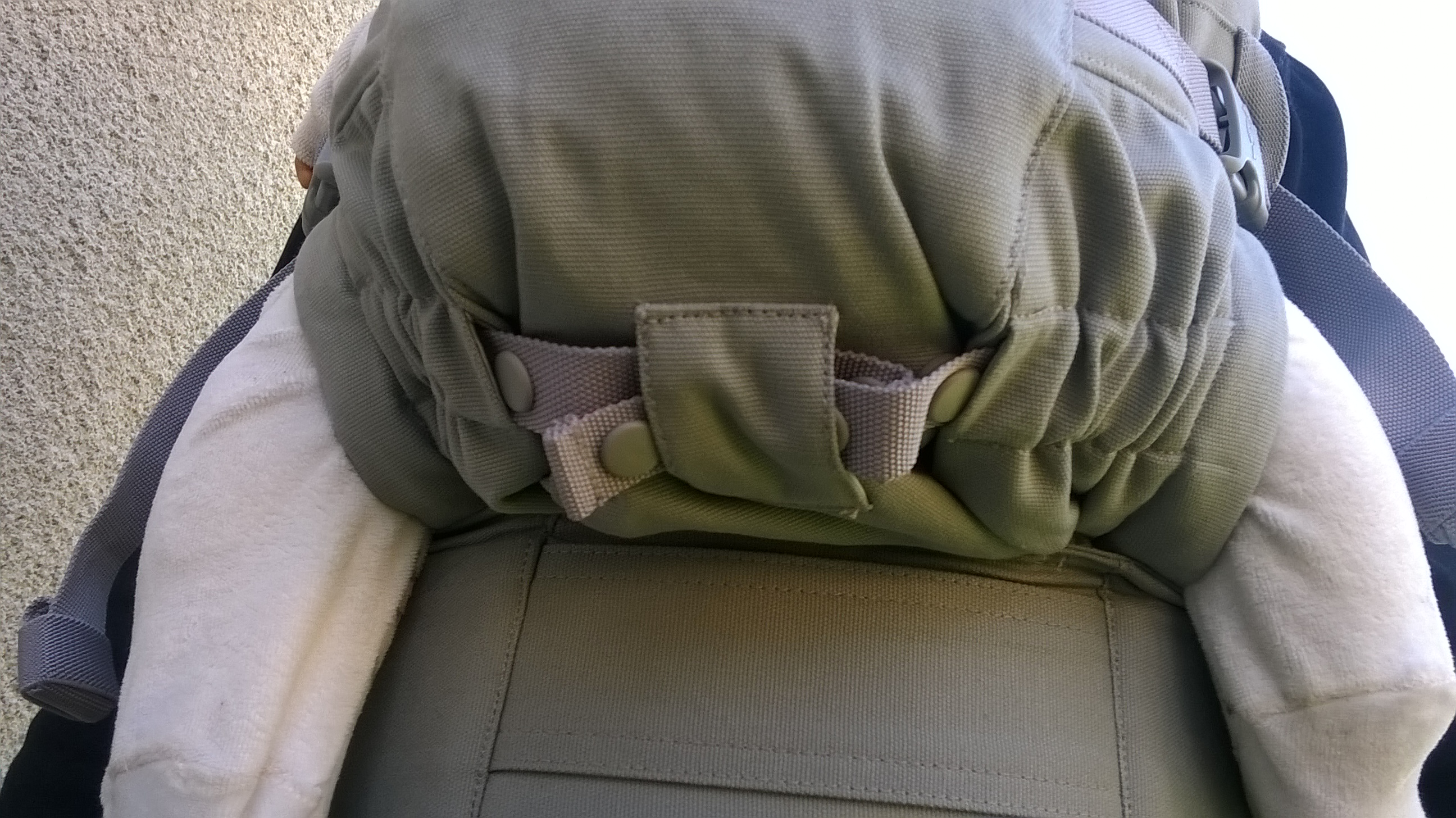 Ergobaby Adapt réglage assise par pressions