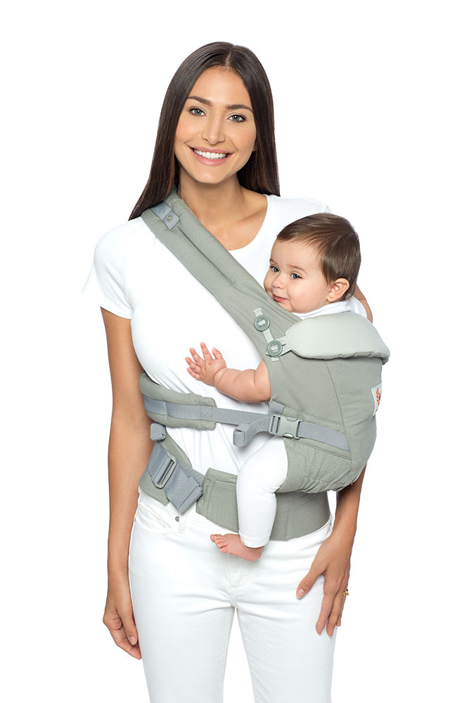 portage sur la hanche adapt vert sauge ergobaby