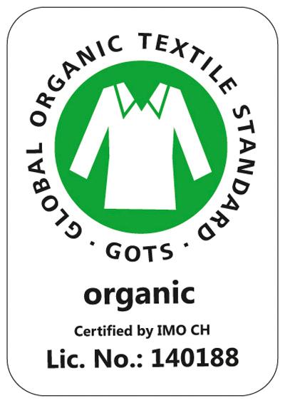 Logo certifié GOTS