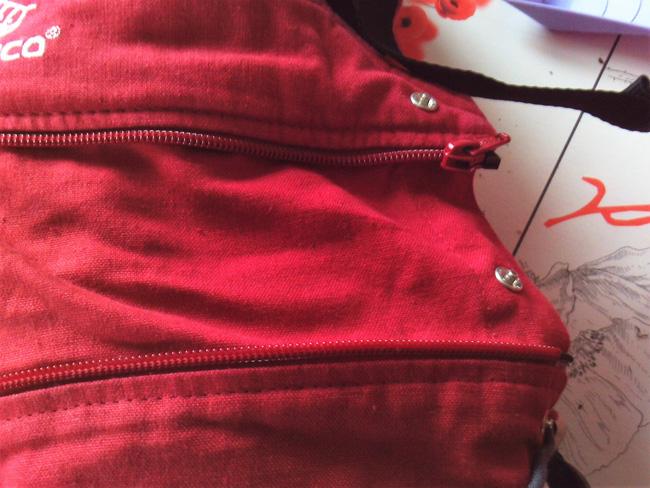 manduca rallonge hauteur tablier zip