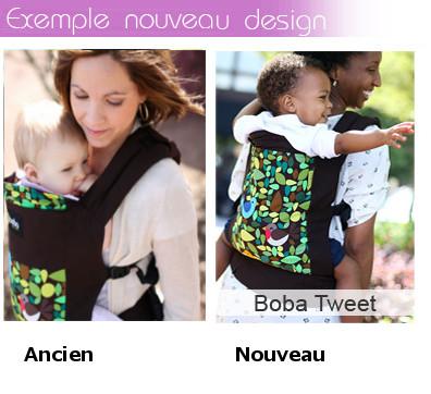 Exemple de nouveau design porte bébé boba 4G