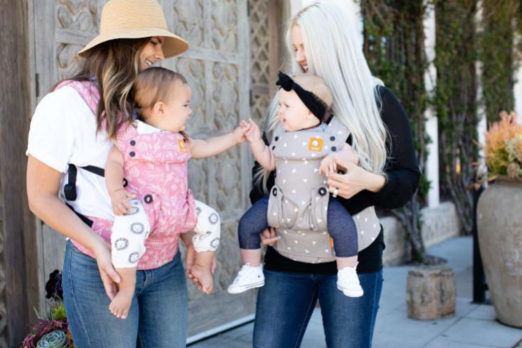 Tula Explore : nouveau porte-bébé adaptatif 4 positions coloré et fun