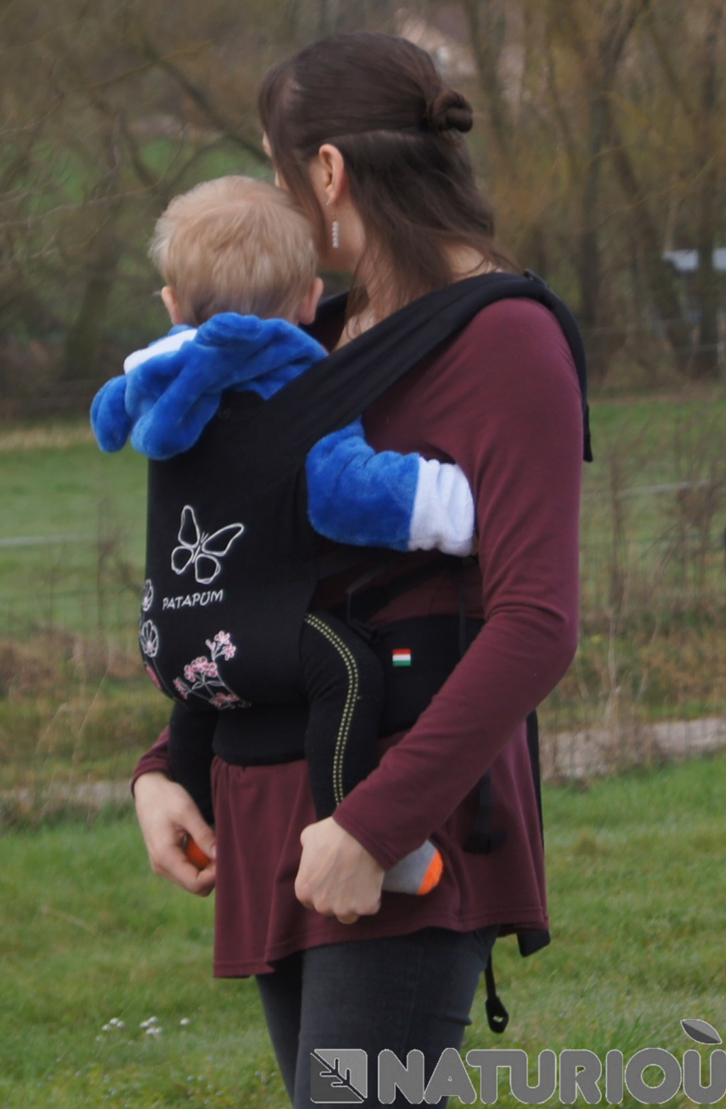 Avis sur le porte-bébé Patapum Toddler par Gaëlle