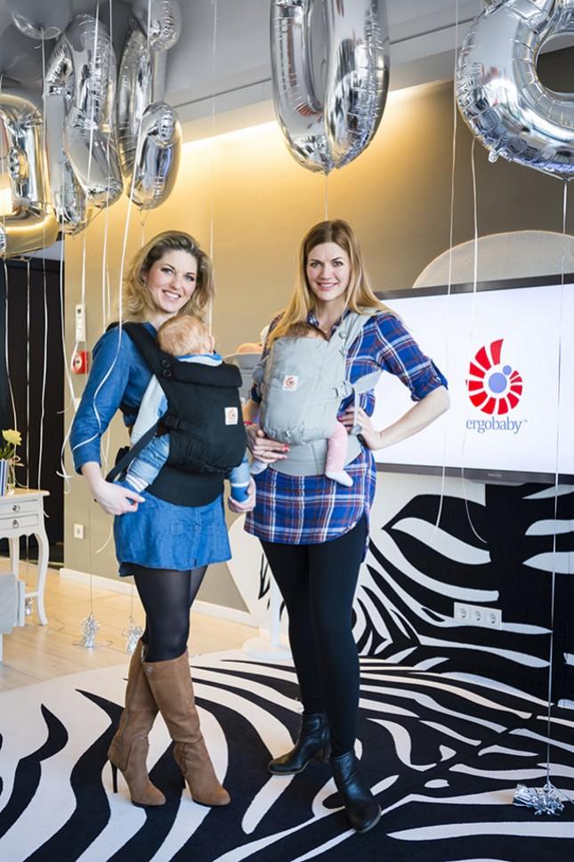 Nouveau porte-bébé physiologique Ergobaby Adapt