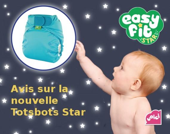 Avis sur la couche lavable Tosbots Easyfit V5 Star