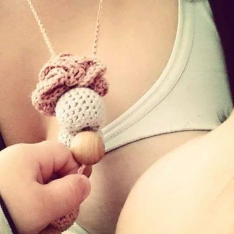 Nouveau : collier de portage et d'allaitement bio assorti à votre porte-bébé!