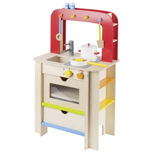 Notre avis sur les jouets en bois GOKI : cuisinière, grille-pain et cafetière