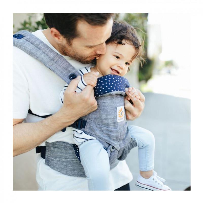 Portage face au monde en porte-bébés physiologiques : est-ce possible ?